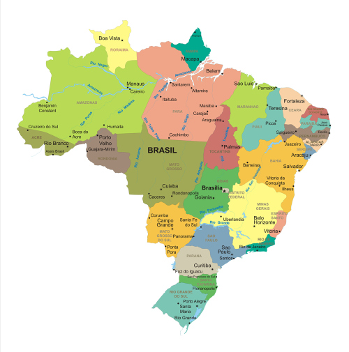 adesivo mapa do brasil