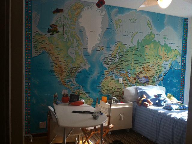 Viajando e decorando