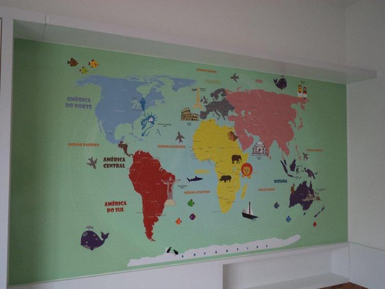 decoracao parede quarto infantil