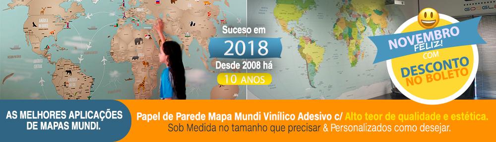 Blog Papel de Parede Mapa Mundi