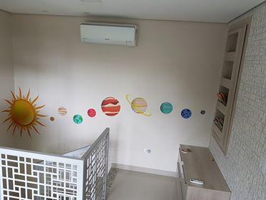 Sistema Solar Adesivo