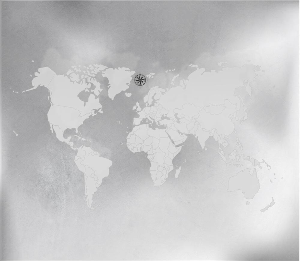 Papel de Parede Mapa Mundi em tons de cinza com estilo minimalista