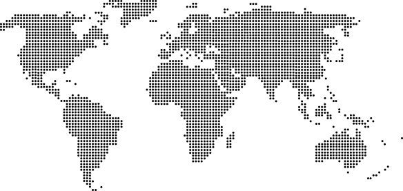 Mapa Mundi Decorativo Papel de Parede